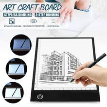 Tablet Art-Board Drawing Digital Craft Stencil-Display Led-Light-Box Copy-Pad Tracing