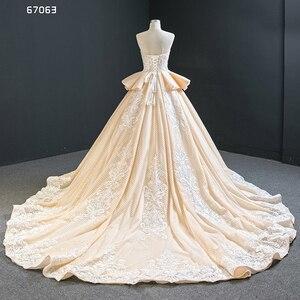 Image 3 - J67063 Jancember Quinceanera שמלות סטרפלס ללא שרוולים לפרוע אפליקצית דפוס תחרה עד בחזרה Vestidos Dulces 16