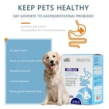 Pet probiyotikler 10 torba kutulu gastrointestinal hazine köpek ishal ishal kedi gastroenterit pet sağlık ürünleri beslenme