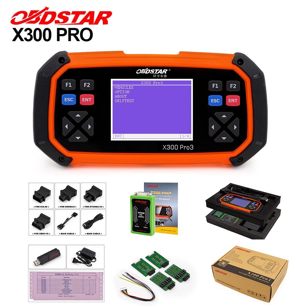 OBDSTAR X300 PRO3 Key Master OBD2 Key Programmer Odometer Correction Tool EEPROM PIC Update Online Auto