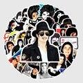 10/50 шт., ПВХ водостойкие наклейки с изображением Майкла Джексона