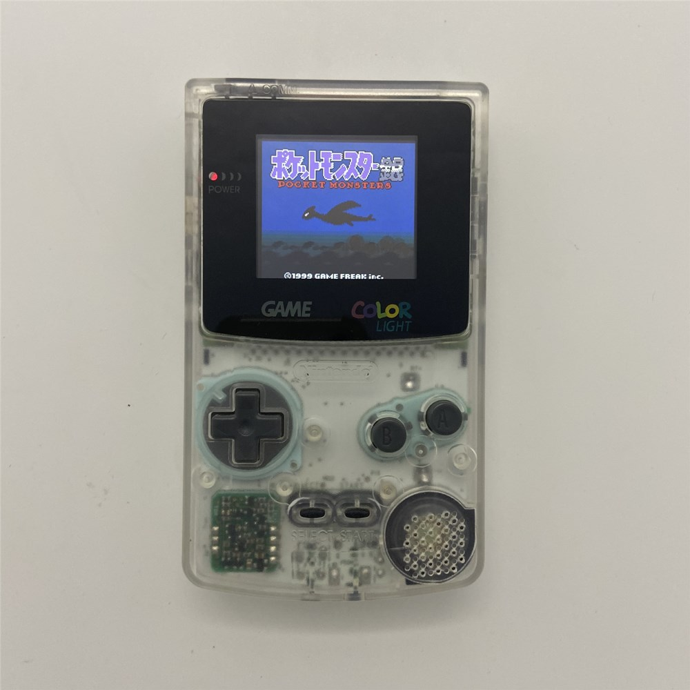 GBC with new shell and high brightness LCD Professionally Refurbished For <font><b>Game</b></font> <font><b>Boy</b></font> <font><b>COLOR</b></font> image