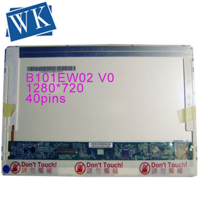 B101EW02 V1 B101EW02 V0 1280x720 (SD +) LCD écran d'affichage LED panneaux
