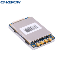 Chafon uhf帯rfid r2000モジュールスマートカード読込みモジュールusb 2.0 RS232インタフェースと4つのアンテナポートアクセス制御