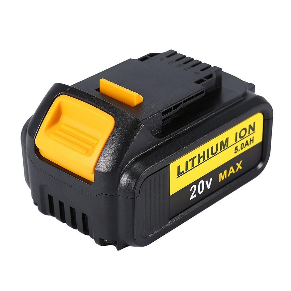 battery For DeWalt 20V 6000mAh DCB200 MAX Rechargeable Power Tools Battery Replacement DCB181 DCB182 DCB204 DCB101 DCF885