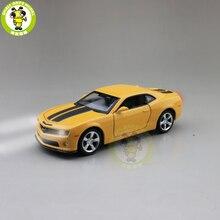 Camaro coche de carreras fundido a presión, juguetes de modelo de coche, regalos para niños, 1/32