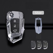 Zinc Alloy Car Remote Key Case Key cover For Hyundai Tucson Creta ix25 i20 i30 HB20 Elantra Verna Sonata Mistra accessories