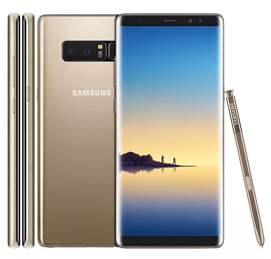 "Original Samsung Galaxy Note8 Note 8 N950U Mobile Phone 4G LTE 6GB RAM 64GB ROM Snapdragon 835 Octa Core 6.3"" NFC used Phone"