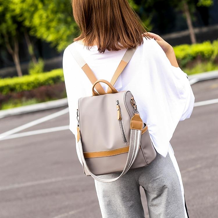 Hfb24ec3d0aee46e588467a85929f62b5y Anti-theft women backpacks ladies large capacity backpack high quality bagpack waterproof Oxford women backpack sac a dos