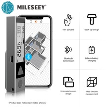 Laser-Measuring-Tape Metre Laser Trena Bluetooth Mileseey Handheld Mini