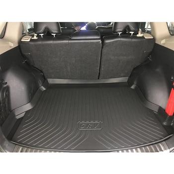 TPE Car Trunk Mat For Audi Q3 8U TPO Car Carpets 2011-2013 2014 2015 2016 2017 2018 Car Accessories Custom Rubber 5d Cargo Liner