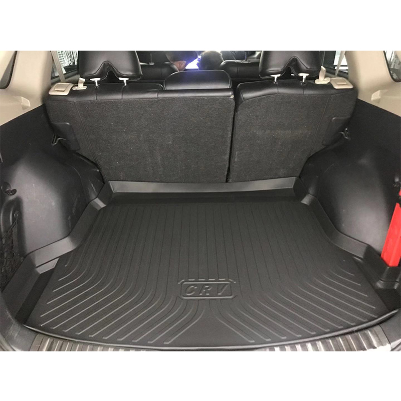 TPE Car Trunk Mat For Hyundai Kona Kauai TPO Car Carpets 2017 2018 2019 2020 Car Accessories Custom Rubber 5d Cargo Liner