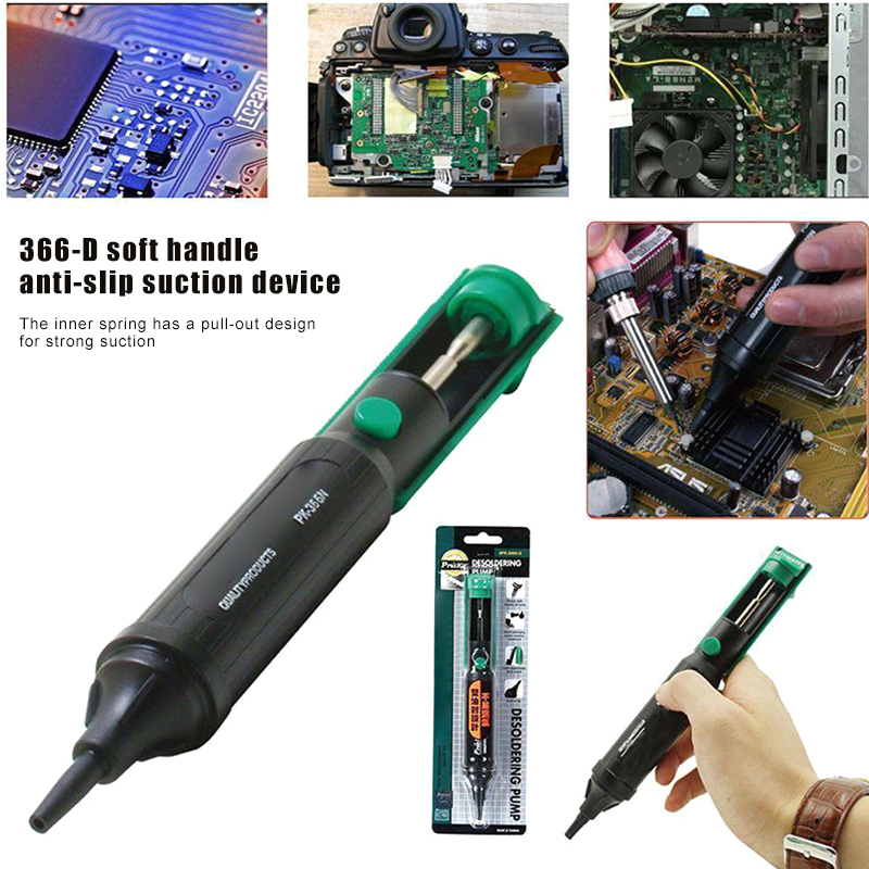 HOT Desoldering Solder Sucker Soldering Pump Suction Tin Vacuum Removal Tool NDS