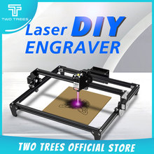 TWO TREES Totem 30*40cm Mini 2500MW 5500MW 2Axis CNC Laser Engraving Machine DIY Engraver Desktop Wood Router/Cutter/Printer