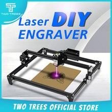 Twotrees Totem 30*40cm Mini 2500MW 5500MW 2 osi maszyna do grawerowania laserowego CNC DIY grawer pulpit frezarka do drewna/frez/drukarka