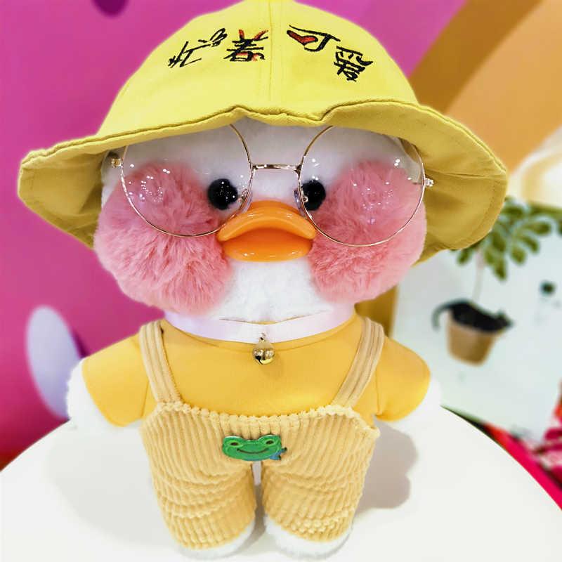 لطيف الملابس البلوز اكسسوارات LaLafanfan مقهى بطة ألعاب من نسيج مخملي Kawaii بنات هدايا للبنات لدمية 25-30 سنتيمتر