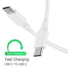 Fita c carregador cabo tipo c para tipo c cabo de carregamento para samsung a80 a50 a70 a90 a40 oneplus 6t 5 7 pro usb typec cabos chargeur
