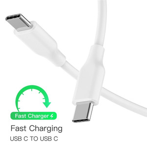 Tape C Charger Cable Type c to Type c Charging Cable for Samsung a80 a50 a70 a90 a40 oneplus 6t 5 7 pro USB Typec Cabos Chargeur