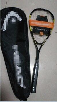 squash racket head racquets with squash string speed bag sports training squash head