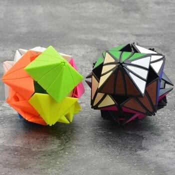 Lefun Strange-shape Magic Cube 3*3*3  Cubs Pentagon Rubix Cube Trending Toys Puzzle Cubes Educational Toys Games for Kids Finger mo yue guo guan yue xiao 3 3 3 black magic cubes puzzle speed rubiks cube educational toys gifts for kids children