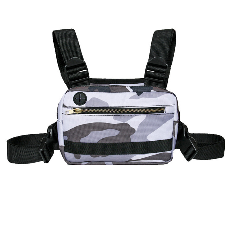 Unisex Nylon Sports Fitness Gym Trail Running Cycling Vest Bag For Sport Trekking Run Chest Backpack Bag Running Accessories