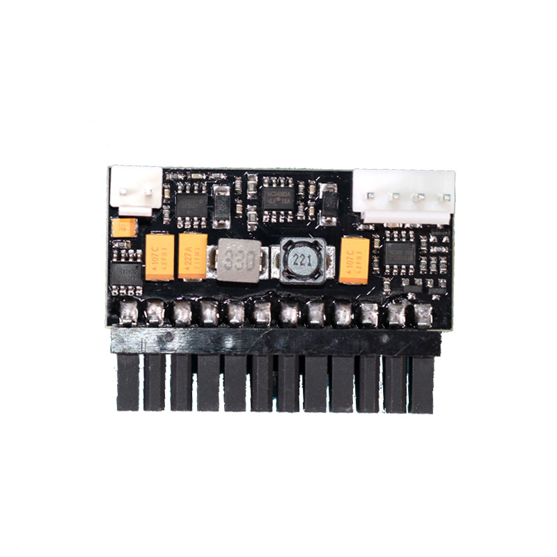 12 В DC-ATX 150 Вт 24Pin ATX плагин Модуль питания плата для настольного HTPC мини ПК NAS промышленного управления ПК