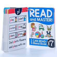 112 Groups Roots Learning English Phonics Cards Memory Game Montessori Educational Toy For Kids Flash Cards Teaching Aids