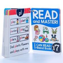 112 группы корней обучения английской телефонной карты памяти игры Монтессори обучающая игрушка для детей флэш-карты учебные пособия