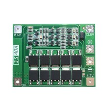 3S 40A Li-Ion Lithium Battery Charger Protection Board PCB BMS for Drill Motor 11.1V 12.6V Lipo Cell Module(China)