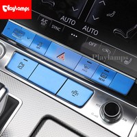Car styling Drive select Control Warning Light buttons covers Sitckers For Audi A6 2019 Interior Auto Accessories