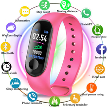 M3 Smart Band Sport Bracelet Blood Pressure & Heart Rate Monitor Smart Band Colorful Touch Screen Wristband Fitness Tracker m3 wristband color touch screen fitness tracker blood pressure heart rate monitor smart bracelet fitness smart band smart watch