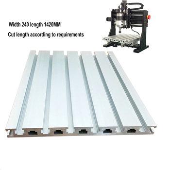 Small Cnc Engraving Machine Table Aluminum Plate Diy Accessories CNC Engraving Machine Aluminum Profile 20240 Engraving Machine