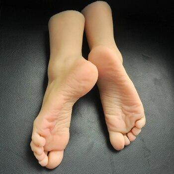 ZISHINE Mannequin Stockings Foot Model Fake Foot wrinkles Toe Rubber Plastic Art Silicone 1:1 Female Male 3815 realistic silicone lifelike soft mannequin foot ,foot fetish toymodel sexy vivid silicone female