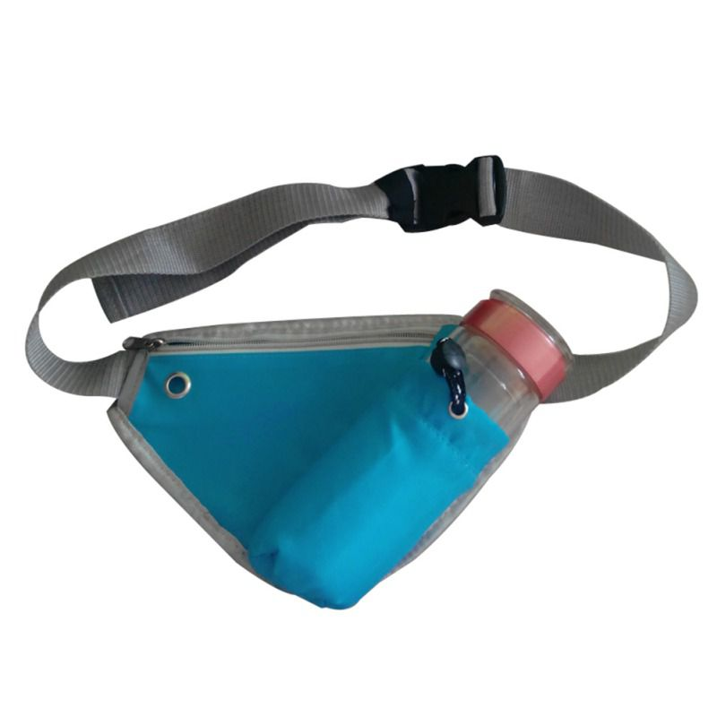 Triangle Waist Belt Bag Running Invisible Reflective Mobile Phone Anti-theft Waist Pack Sports Bag With Water Bottle Holder KT01