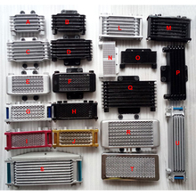 Universal Motorcycle Engine Oil Cooler Radiator for motorcycle ATV Dirt Bike Scooter Go Cart Modified parts