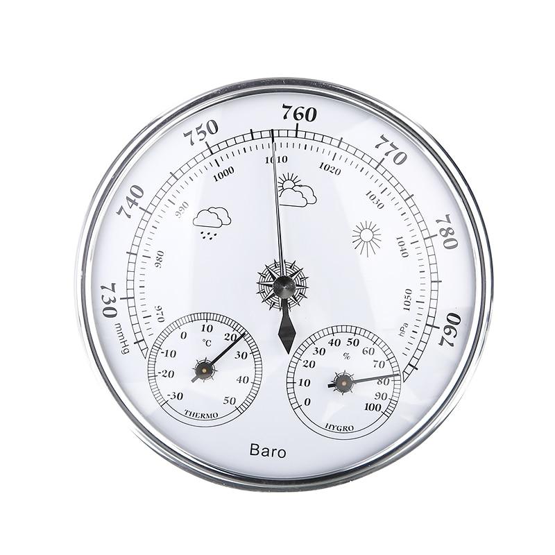 Mayitr приборы для измерения температуры Бытовая Метеостанция 3 в 1 Барометр термометр гигрометр настенный тестер инструменты
