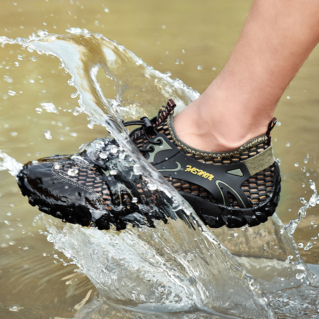 Man Hiking Shoes Non-slip Waterproof Shoes Men Women Quick Dry Sneakers Comfortable Trekking Water Shoes Multifunctional Outdoor 2
