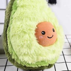Owoce awokado pluszowa roślina wygodne kreatywne zabawki Kawaii Cartoon śliczne wypchana lalka poduszka chłopcy dziewczęta poduszka dla dzieci prezent w Akcesoria meblowe od Meble na