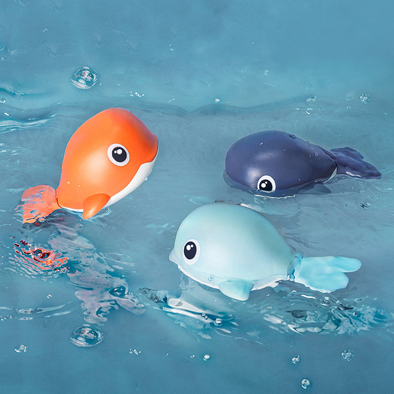 Baby Toys Swimming-Pool-Accessories Swim-Play-Toy Infant Tortoise Animal Dolphin Cute