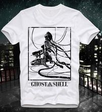 2019 Summer T Shirt New High Quality  Ghost In The Shell Manga Anime Japan Japanese Retro Vintage Akira Custom Printed Shirts