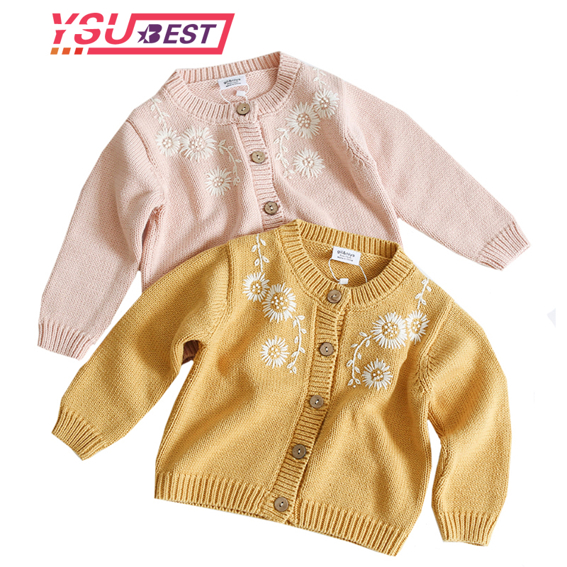 Winter Knit Baby Sweater Infant Toddler Boys Girls Cardigan Warm Long Sleeve O-Neck Sweaters for Baby 6-24 Months