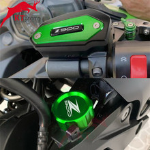 For KAWASAKI Z900 Z 900 z900 2017-2020 2019 Motorcycle CNC High quality Rear & Front Brake Fluid Reservoir Cap Cylinder cove(China)
