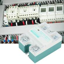 DC-AC Single Phase Solid State Relay 4 ~ 32V 24 ~ 480V 10A untuk Circuit Penyesuaian ZYG-D4810(China)