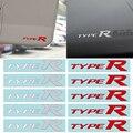 Стайлинг автомобиля 3D TYPER Тип R Racing Letter, логотип, эмблема, наклейка, наклейка для HONDA Mugen, авто аксессуары для украшения интерьера