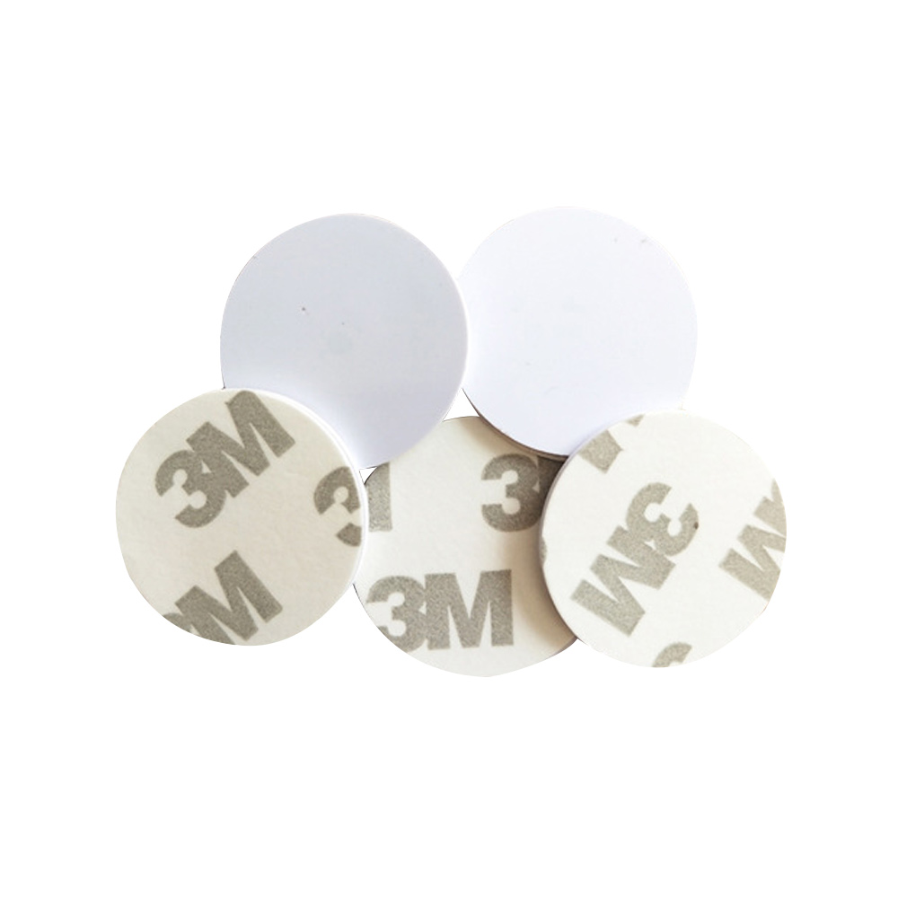 (10PCS/LOT) Ntag216 NFC Tag Stickers Adhesive Coin Cards 3m 25mm 888 Bytes For All NFC Phones