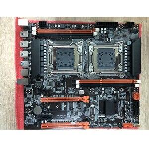 Image 5 - Atermiter X79 כפולה X79 E ATX מעבד האם שילובי 2 × Xeon E5 2689 4 × 8GB = 32GB 1600MHz PC3 12800 DDR3 ECC REG זיכרון