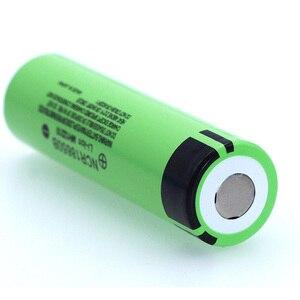 Image 2 - 100% Nieuwe Originele NCR18650B 3.7 V 3400Mah 18650 Lithium Oplaadbare Batterij Voor Zaklamp Batterijen