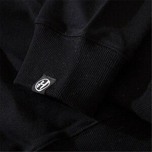 Image 5 - Bebovizi Японская уличная одежда Толстовка для мужчин худи демон 2019 Harajuku повседневные уличные японские худи