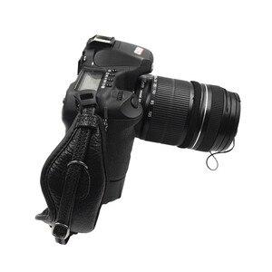Image 3 - العالمي DSLR كاميرا جلدية اليد قبضة شريط للرسغ لوحة يناسب لكانون 1000D 550D 600D نيكون سوني فوجي فيلم كاميرا