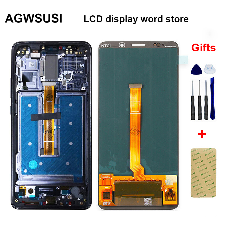 AMOLED For Huawei Mate 10 Pro LCD Display Digitizer Assembly For Huawei Mate 10 Pro LCD Touch Screen 6.0 inch Phone Parts
